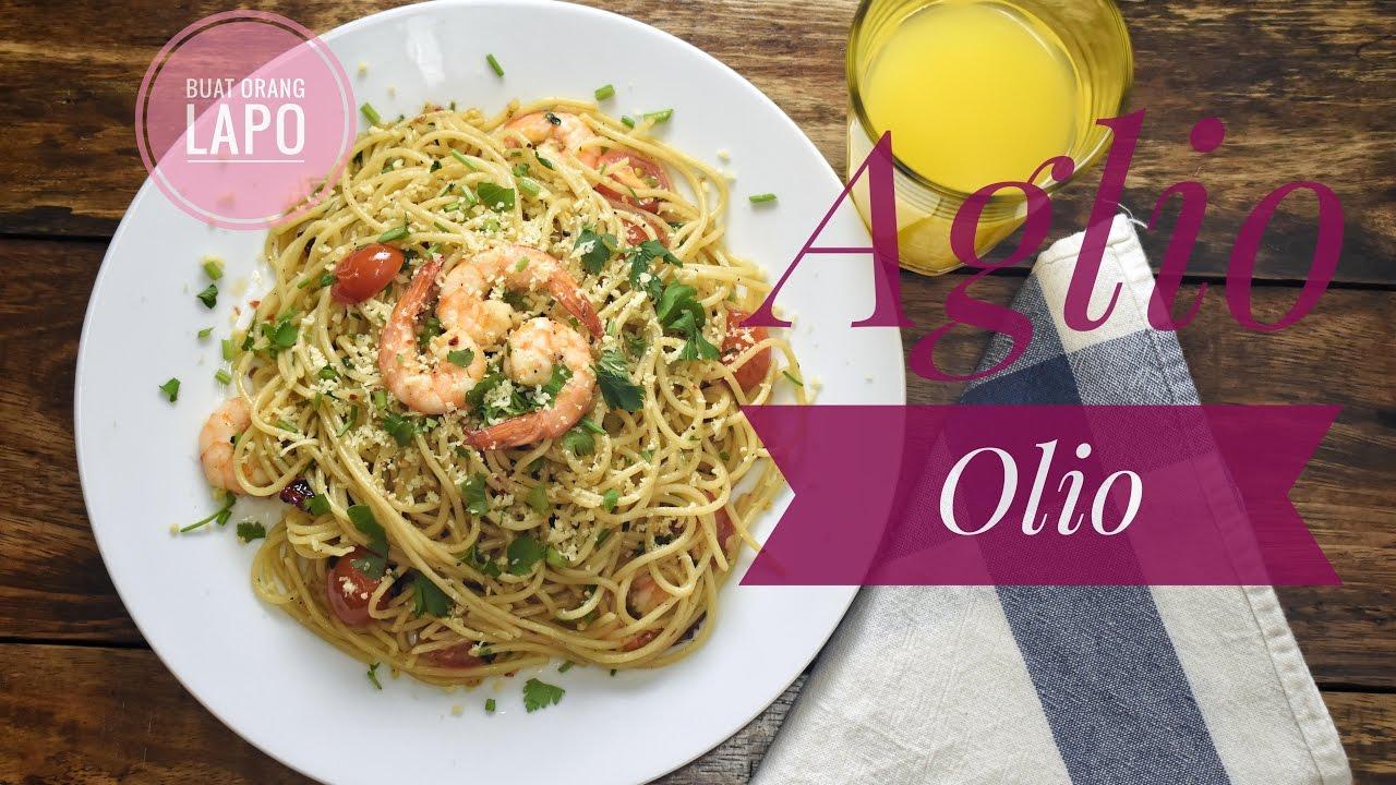 Resepi Spaghetti Aglio Olio Mudah dan Sedap