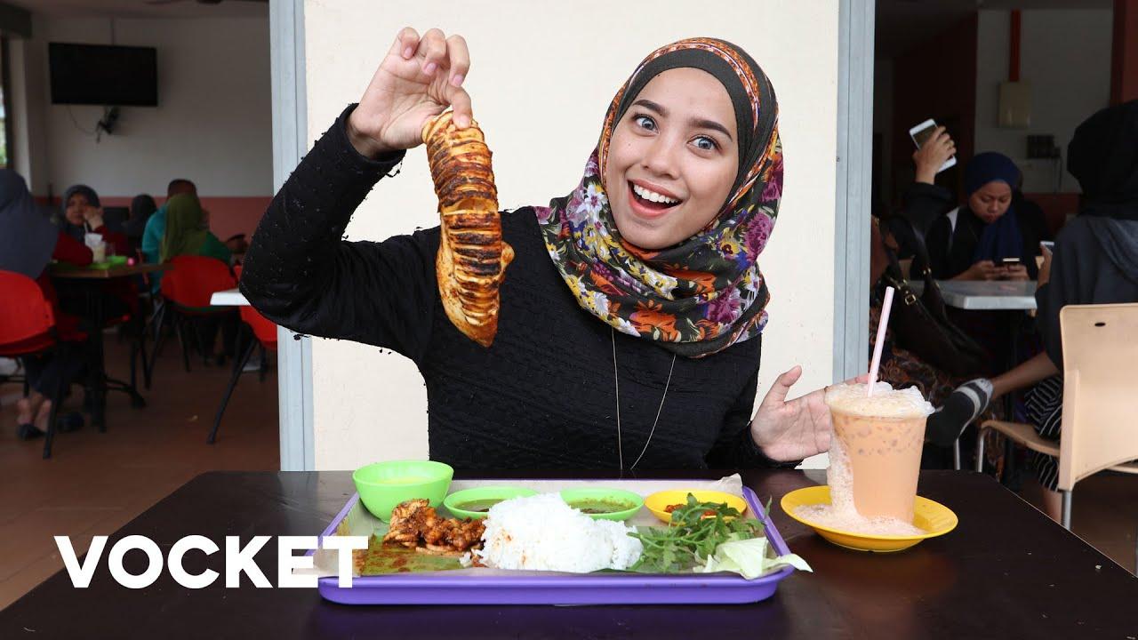 Tempat Makan Best Sotong Bakar Besar Muka Di Nasi Dulang Sungai Ramal