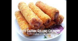 ROTI SARDIN GULUNG GARING | SARDINE CRUNCHY ROLL