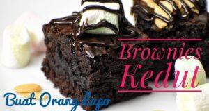 Resepi Brownies Kedut