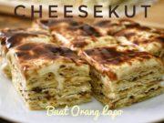 Resepi Cheesekut mudah dan senang