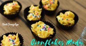 Resepi Cornflakes Madu Rangup - Kuih Raya | Resepi Biskut Raya