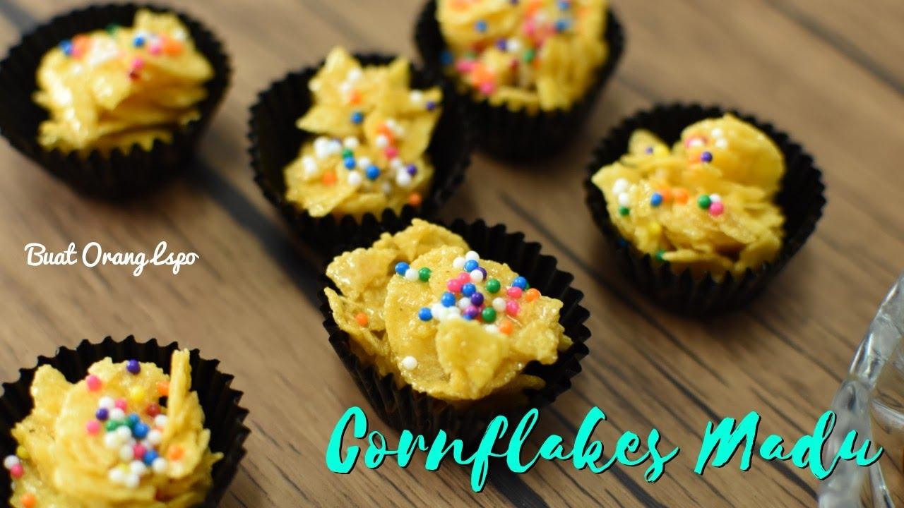 resepi biskut cornflakes madu rangup pijatan Resepi Kuih Bakar Sarang Madu Enak dan Mudah