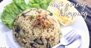 Resepi Nasi Goreng Kampung Mudah | Simple Kampung Fried Rice Recipe