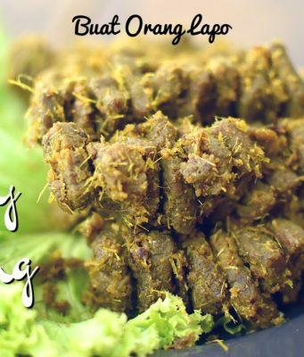 Satay Goreng | Fried Satay