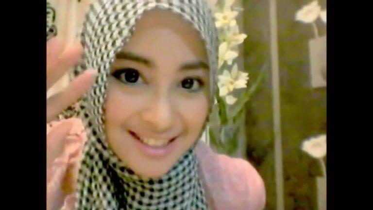 Hijab Tutorial ;Cara Pakai Hijab Pashmina Sifon Simple Terbaru;
