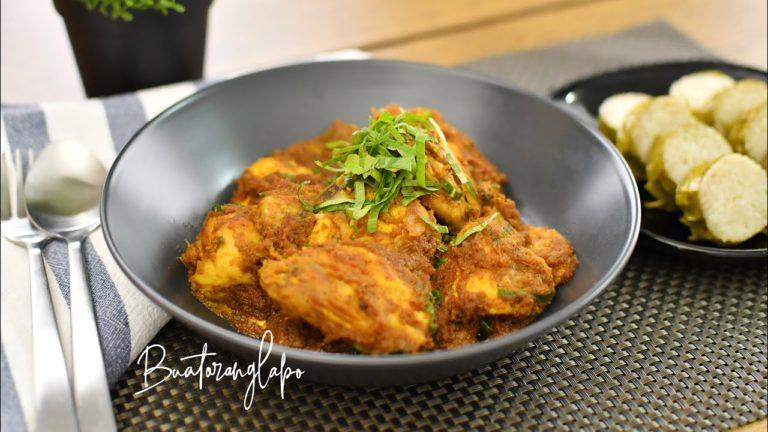 Resepi Rendang Ayam Yang Sedap