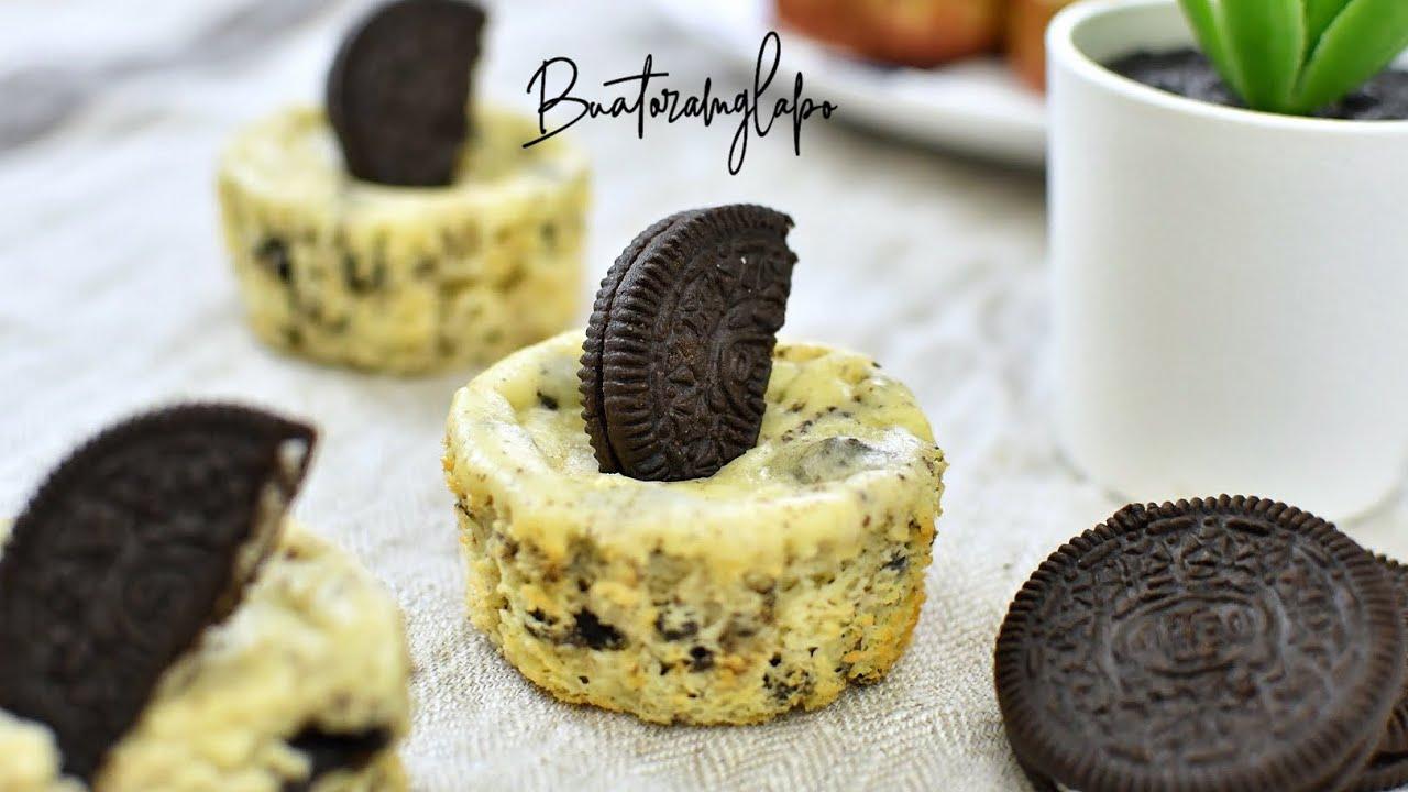 Resepi Mini Oreo Cheesecake