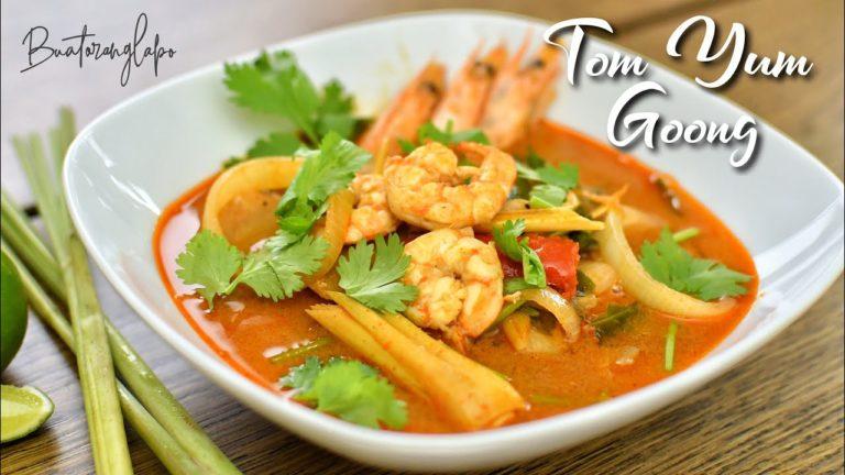Resepi Tom Yum Goong Macam Makan Dekat Kedai Thai