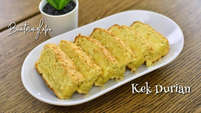 Resepi Kek Durian Yang Sangat Sedap Dan Mudah