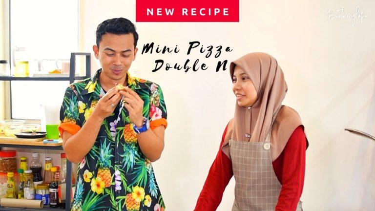 Resepi Mini Pizza Comel menggunakan roti putih sebagai kerak yang sedap dan mudah untuk dibuat