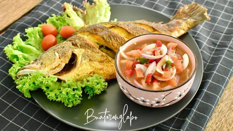 Resepi Ikan Bakar dengan Air Asam Kerisik Yang Memang sedap
